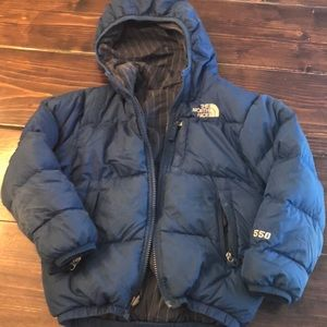 Boys North Face puffer